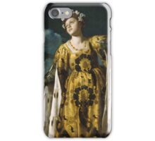 Vintage famous art - Alessandro Turchi  - Allegory Of Hope iPhone Case/Skin