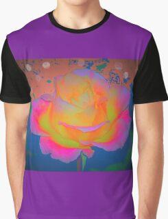Rose color blast Graphic T-Shirt