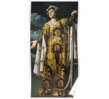 Vintage famous art - Alessandro Turchi  - Allegory Of Hope Poster