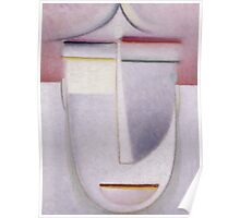 Vintage famous art - Alexei Jawlensky  - Abstract Head Africa Poster