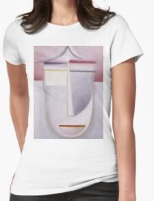 Vintage famous art - Alexei Jawlensky  - Abstract Head Africa Womens Fitted T-Shirt