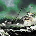 Who Are We to Think That We Can Defeat a Raging Sea by Dennis Melling