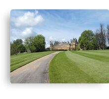 Road To The Manor Canvas Print