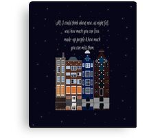 John Green - Thoughts From Places (Denmark) Canvas Print