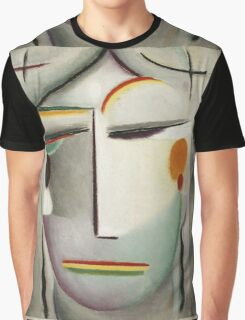 Vintage famous art - Alexei Jawlensky  - Heilandsgesicht Remote King - Buddha Ii Graphic T-Shirt