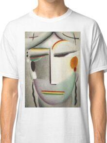 Vintage famous art - Alexei Jawlensky  - Heilandsgesicht Remote King - Buddha Ii Classic T-Shirt
