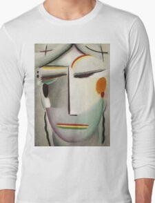 Vintage famous art - Alexei Jawlensky  - Heilandsgesicht Remote King - Buddha Ii Long Sleeve T-Shirt