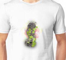 Vintage Key Flowers Unisex T-Shirt