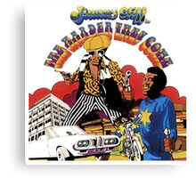 Jimmy Cliff : The Harder They Come Canvas Print
