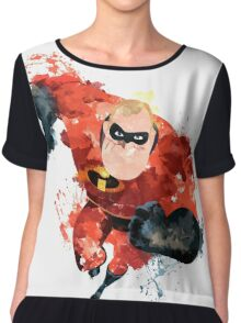Mr. Incredible Women's Chiffon Top
