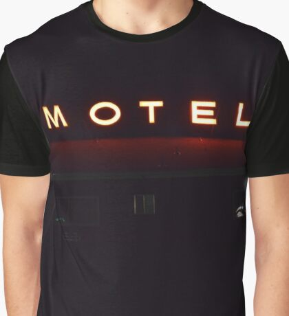 motel neon Graphic T-Shirt