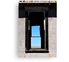 prairie window Canvas Print