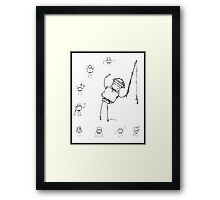 Robot Collection v1 Framed Print