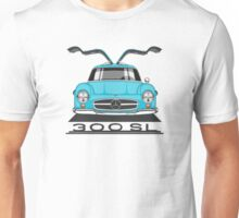 Mercedes-Benz 300 SL (W198) (blue) Unisex T-Shirt