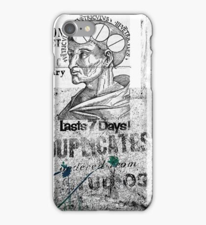 Philosophy is the talk on a cereal box iPhone Case/Skin