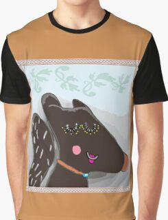 Conceited Squirrel Graphic T-Shirt