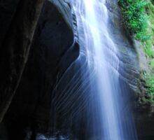 Buderim Waterfalls Sunshine Coast Qld Australia Sticker