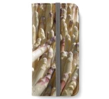Bayonne France Asparagus. Asparagus officinalis, iPhone Wallet/Case/Skin