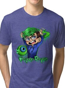 Double High Five!!! Tri-blend T-Shirt