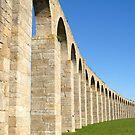 Vila do Conde Portugal  18th Century aqueduct  by stuwdamdorp