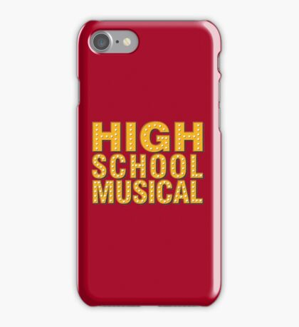 High School And Musical iPhone Case/Skin