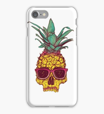 Pineapple Skull iPhone Case/Skin
