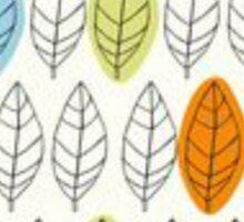 Leaf Repeat Pattern Sticker