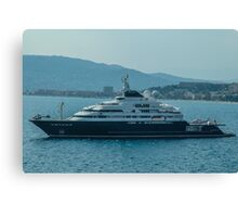 Ocean Cruiser moored at Cannes Canvas Print