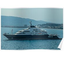 Ocean Cruiser moored at Cannes Poster