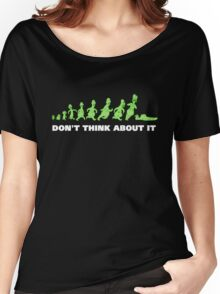 Rick and Morty - Don't think about it! Women's Relaxed Fit T-Shirt