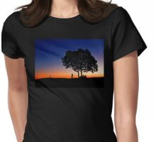 One Tree Hill - Marburg Qld Australia Womens Fitted T-Shirt