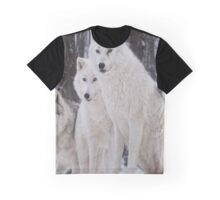 white wolves Graphic T-Shirt