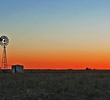 A Country Sunset by Beth  Wode