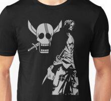 Red Hair Shanks Pirate Unisex T-Shirt