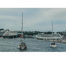 Sailing Ships and Ocean Liners Photographic Print
