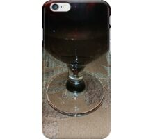 a glass of red wine iPhone Case/Skin
