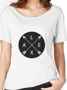 Lexa crossed arrows (The 100) Women's Relaxed Fit T-Shirt