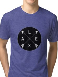 Lexa crossed arrows (The 100) Tri-blend T-Shirt