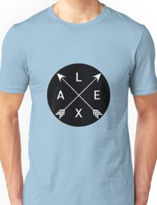 Lexa crossed arrows (The 100) Unisex T-Shirt