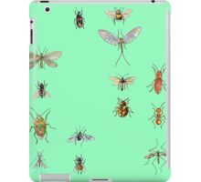 Creepy crawlies organised: Spring/Summer edition iPad Case/Skin