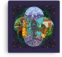 Ekalavya & Drona's Price Canvas Print