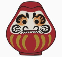 Cute Daruma doll One Piece - Short Sleeve
