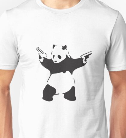 Panda the Gunslinger Unisex T-Shirt