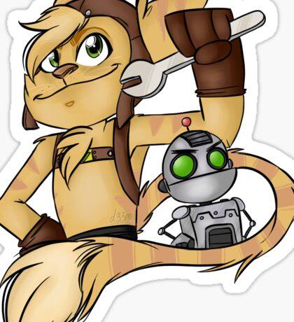Ratchet & Clank Sticker
