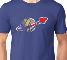 Faded Spaceman Unisex T-Shirt