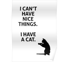 Cat Things Poster