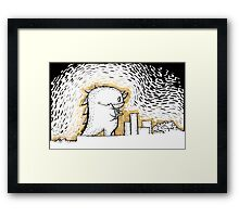 Yummy tower Framed Print