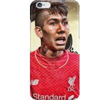 Roberto Firmino - Liverpool Wallpaper iPhone Case/Skin