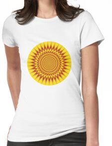 HYPNOTIC VIBES Womens Fitted T-Shirt