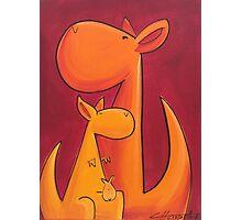 Splatter Mob (Kangaroos) Photographic Print